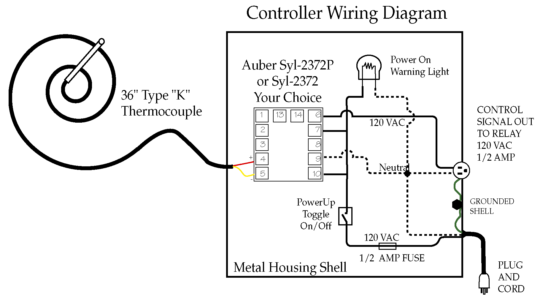 Pid Controller Wiring Diagram Kiln Diagrams Brew 30 Images 220v Three Phase